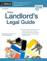 Every Landlord's Legal Guide ebook by Marcia Stewart, J.D.,Ralph Warner, Attorney,Janet Portman, J.D.