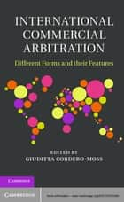 International Commercial Arbitration ebook by Giuditta Cordero-Moss
