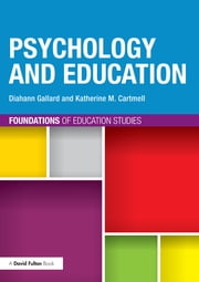 Psychology and Education ebook by Diahann Gallard,Katherine M. Cartmell
