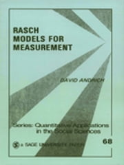 Rasch Models for Measurement - SAGE Publications ebook by Kobo.Web.Store.Products.Fields.ContributorFieldViewModel