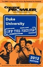 Duke University 2012 ebook by George Carotenuto