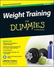 Weight Training For Dummies ebook by LaReine Chabut