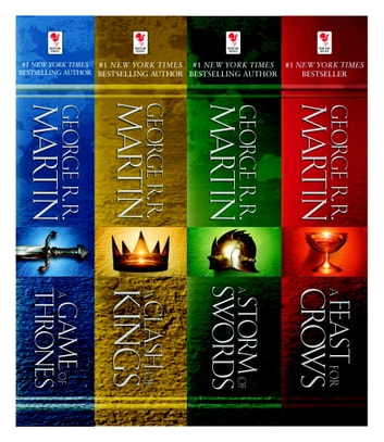 A Game of Thrones 4-Book Bundle - A Song of Ice and Fire Series: A Game of Thrones, A Clash of Kings, A Storm of Swords, and A Feast for Crows ekitaplar by George R. R. Martin