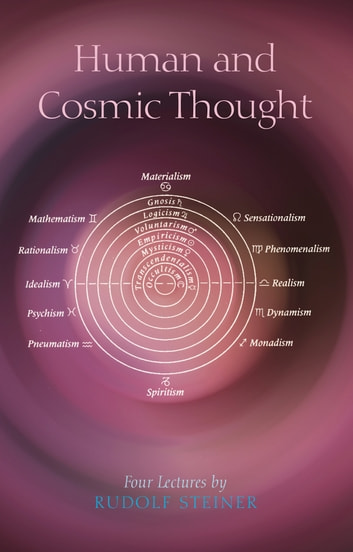 Human and Cosmic Thought ebook by Rudolf Steiner