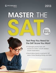 Master the SAT 2013 ebook by Peterson's