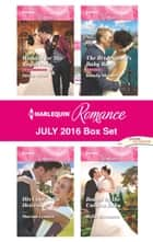 Harlequin Romance July 2016 Box Set - Wedded for His Royal Duty\His Cinderella Heiress\The Bridesmaid's Baby Bump\Bound by the Unborn Baby ebook by Susan Meier, Marion Lennox, Kandy Shepherd,...