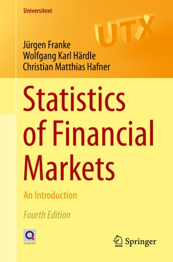Statistics of Financial Markets - An Introduction ebook by Wolfgang Karl Härdle,Jürgen Franke,Christian Matthias Hafner