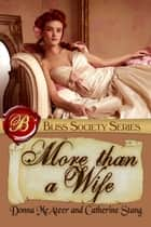 More Than A Wife ebook by Catherine Stang