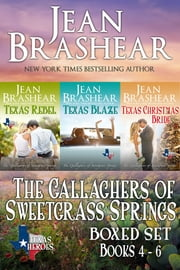 The Gallaghers of Sweetgrass Springs Boxed Set Two - Books 4-6 ebook by Jean Brashear