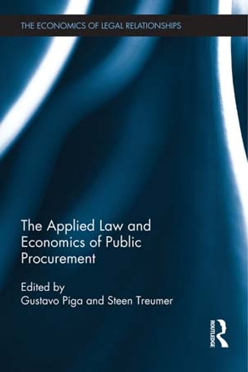 The applied law and economics of public procurement ebook by the applied law and economics of public procurement ebook by fandeluxe Gallery