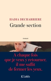 Grande section ebook by Hadia Decharrière