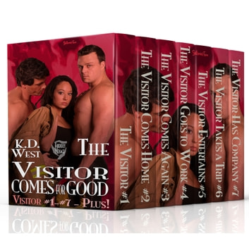 The Visitor Comes for Good - A Friendly MMF Ménage Tale ebook by K.D. West