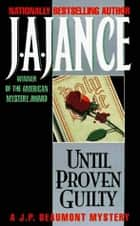 Until Proven Guilty ebook by