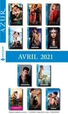Pack mensuel Azur : 11 romans + 1 gratuit (Avril 2021) ebook by