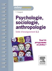 Psychologie, sociologie, anthropologie - Unité d'enseignement 1.1 ebook by Fanny Dargent