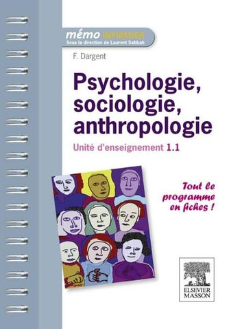 Psychologie, sociologie, anthropologie - Unité d'enseignement 1.1 ebook by Fanny Dargent,Laurent Sabbah