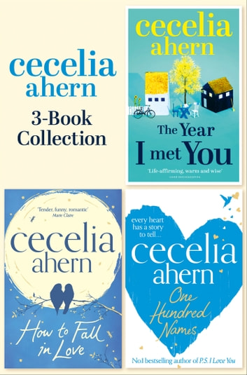 Cecelia Ahern 3 Book Collection One Hundred Names How To border=