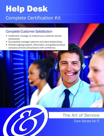 Help Desk Complete Certification Kit - Core Series for IT eBook by ...