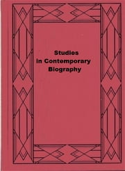 Studies in Contemporary Biography ebook by Viscount James Bryce