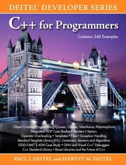 C++ for Programmers ebook by Deitel, Paul
