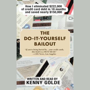 The Do-It-Yourself Bailout - How I Eliminated $222,000 of Credit Card Debt in Eighteen Months and Saved Nearly $150,000 audiobook by Kenny Golde