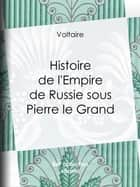 Histoire de l'Empire de Russie sous Pierre le Grand ebook by Voltaire, Louis Moland