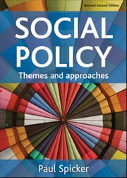 Social policy ebook by Spicker, Paul
