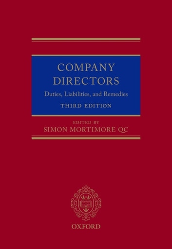 Company Directors - Duties, Liabilities, and Remedies ebook by
