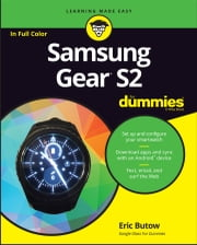 Samsung Gear S2 For Dummies ebook by Eric Butow