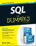 SQL For Dummies ebook by Allen G. Taylor