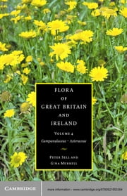 Flora of Great Britain and Ireland: Volume 4, Campanulaceae - Asteraceae ebook by Peter Sell,Gina Murrell,S. M. Walters