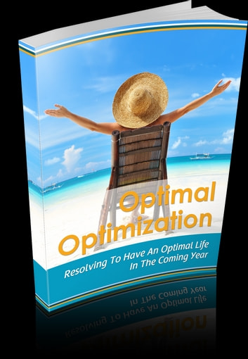 Optimal Optimization ebook by Anonymous