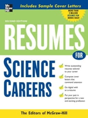 Resumes for Science Careers ebook by McGraw-Hill Education