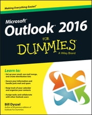 Outlook 2016 For Dummies ebook by Bill Dyszel
