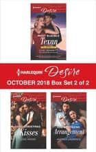 Harlequin Desire October 2018 - Box Set 2 of 2 - Most Eligible Texan\Hot Christmas Kisses\The Boyfriend Arrangement eBook by Jules Bennett, Joss Wood, Andrea Laurence
