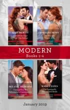 Modern Box Set 1-4/The Secret Kept from the Italian/My Bought Virgin Wife/Claimed for the Billionaire's Convenience/The Spaniard's Untouched ebook by Caitlin Crews, Melanie Milburne, Kate Hewitt,...