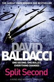 Split Second ekitaplar by David Baldacci