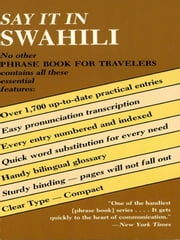 Say It in Swahili ebook by Kobo.Web.Store.Products.Fields.ContributorFieldViewModel