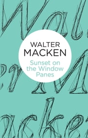 Sunset on the Window-Panes ebook by Walter Macken