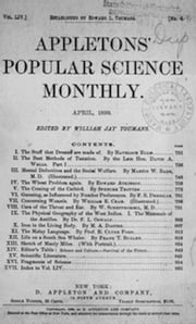 Appletons' Popular Science Monthly, April 1899 (Illustrated) ebook by Various