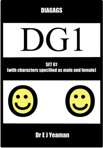 Diagags Set G1 (with Characters Specified as Male and Female) ebook by Dr E J Yeaman
