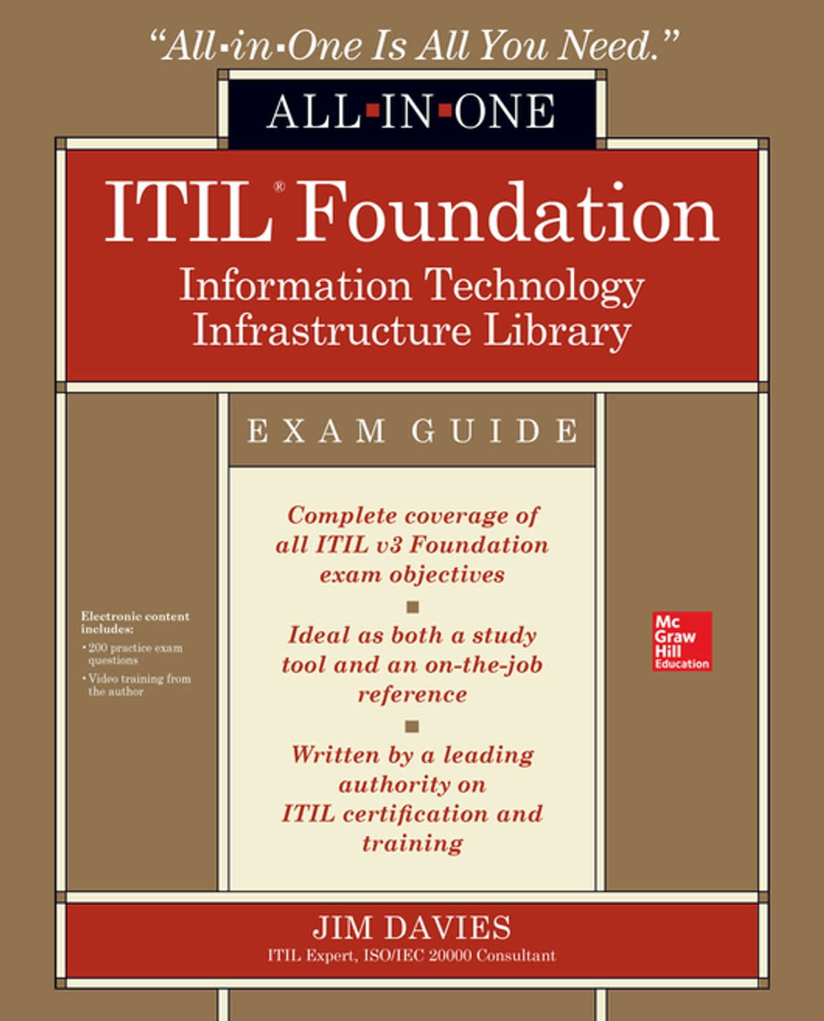 Itil Foundation All In One Exam Guide Ebook By Jim Davies
