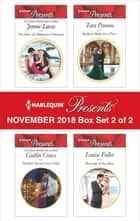 Harlequin Presents November 2018 - Box Set 2 of 2 - The Baby the Billionaire Demands\Sheikh's Secret Love-Child\Sicilian's Bride For a Price\Revenge at the Altar ekitaplar by Jennie Lucas, Caitlin Crews, Tara Pammi,...
