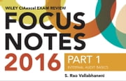 Wiley CIAexcel Exam Review 2016 Focus Notes - Part 1, Internal Audit Basics ebook by S. Rao Vallabhaneni