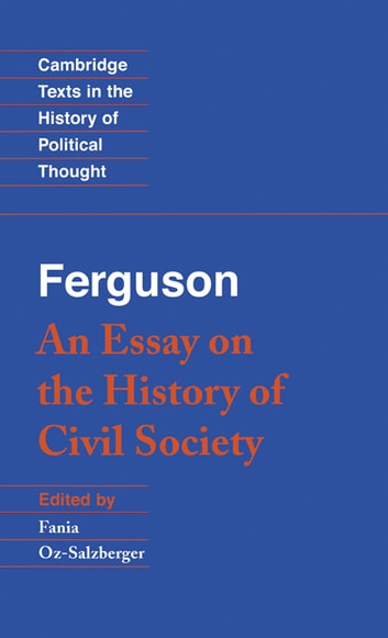 essay on the history of civil society summary Please support our book restoration project by becoming a forgotten books member.