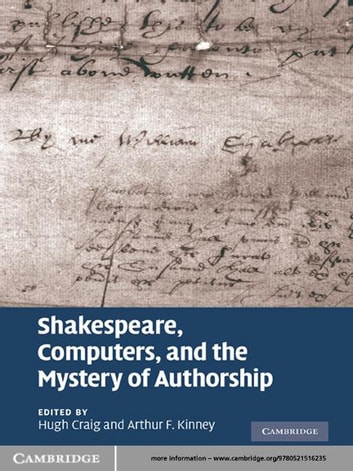 Shakespeare computers and the mystery of authorship ebook by shakespeare computers and the mystery of authorship ebook by fandeluxe Image collections