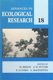 Advances in Ecological Research: Volume 18 ebook by Meurant, Gerard