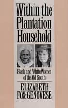 Within the Plantation Household ebook by Elizabeth Fox-Genovese