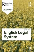 English Legal System Lawcards 2012-2013 ebook by Routledge