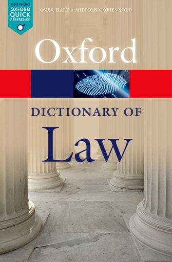 A Dictionary of Law ebook by